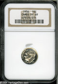 Proof Roosevelt Dimes: , 1956 10C PR69 Cameo NGC....