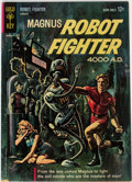 Silver Age (1956-1969):Science Fiction, Magnus Robot Fighter #1 File Copy (Gold Key, 1963) Condition: FN....