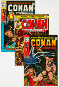 Bronze Age (1970-1979):Adventure, Conan the Barbarian Group of 54 (Marvel, 1971-84) Condition: Average FN.... (Total: 54 Comic Books)