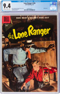 Silver Age (1956-1969):Western, Lone Ranger #104 (Dell, 1957) CGC NM 9.4 Off-white to white pages....
