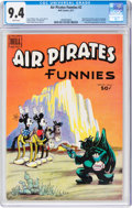 Bronze Age (1970-1979):Alternative/Underground, Air Pirates Funnies #2 (Hell Comics Group, 1971) CGC NM 9.4 White pages....