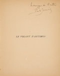 Books:Art & Architecture, Paul Dermée. LE VOLANT D'ARTIMON. POEMS. Paris: 1922. First edition. Signed.. ...