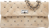 """Chanel Beige Quilted Patent Leather Reissue East West Bag Condition: 1 11"""" Width x 6"""" Height x 3"""