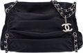 "Luxury Accessories:Bags, Chanel Navy Blue Lambskin Leather Shoulder Bag. Condition: 2. 15"" Width x 10"" Height x 5"" Depth. ..."