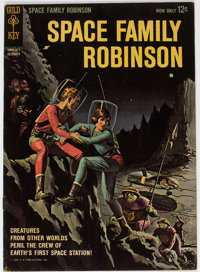 Space Family Robinson #1 File Copy (Gold Key, 1962) Condition: FN+