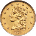 Classic Quarter Eagles, 1839-O $2 1/2 -- Improperly Cleaned -- NCS. Unc Details. Variety 27, R.3. ...