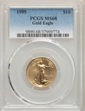 1995 $10 Quarter-Ounce Gold Eagle MS68 PCGS. PCGS Population: (60/392). NGC Census: (44/2666). Mintage 83,752. ...(PCGS#...