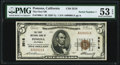 Pomona, CA - $5 1929 Ty. 1 The First NB Ch. # 3518 PMG About Uncirculated 53 EPQ