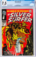 Silver Age (1956-1969):Superhero, The Silver Surfer #3 (Marvel, 1968) CGC VF- 7.5 Off-white pages....