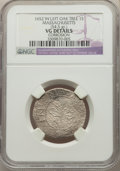 Colonials, 1652 SHILNG Oak Tree Shilling, IN at Left, -- Corrosion -- NGC Details. VG. ...