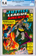 Silver Age (1956-1969):Superhero, Justice League of America #51 (DC, 1967) CGC NM 9.4 Off-white to white pages....