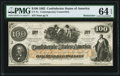 CT41/316A Contemporary Counterfeit $100 1862 Remainder PMG Choice Uncirculated 64 EPQ