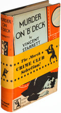 Books:Mystery & Detective Fiction, Vincent Starrett. Group of Four Crime Club Titles. Garden City: 1929-1935. First editions.. ... (Total: 4 Items)