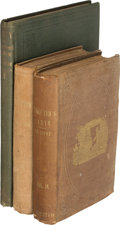 Books:Literature Pre-1900, Harriet Beecher Stowe. Uncle Tom's Cabin; Or, Life Among the Lowly. Boston: John P. Jewett & Company, 1852. Firs... (Total: 3 Items)