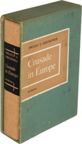 Books:Biography & Memoir, Dwight D. Eisenhower. Crusade in Europe. Garden City: Doubleday & Company, Inc., 1948. First edition, one of 1,426 c...