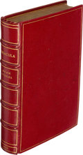 Books:Horror & Supernatural, Bram Stoker. Dracula. Westminster: Archibald Constable and Company, 1897. ...
