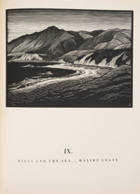 Paul Landacre. California Hills. And Other Wood Engravings. From the Original Blocks