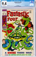 Silver Age (1956-1969):Superhero, Fantastic Four #88 (Marvel, 1969) CGC NM 9.4 Off-white pages....