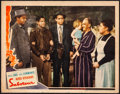 """Movie Posters:Hitchcock, Saboteur (Universal, 1942). Fine+. Lobby Card (11"""" X 14""""). Hitchcock.. ..."""