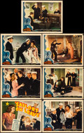 """Movie Posters:Musical, Sailors on Leave (Republic, 1941). Fine+. Title Lobby Card & Lobby Cards (6) (11"""" X 14""""). Musical.. ... (Total: 7 Items)"""