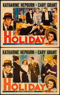 "Holiday (Columbia, 1938). Fine/Very Fine. Lobby Cards (2) (11"" X 14""). Comedy. ... (Total: 2 Items)"