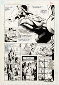 Original Comic Art:Panel Pages, Dick Giordano Secret Origins of the World's Greatest Super-Heroes Story Pages 4 and 6 Batman Origin Original Art G... (Total: 2 Original Art)