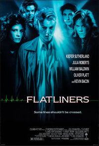 """Flatliners & Other Lot (Columbia, 1990). Rolled, Very Fine. One Sheets (2) (26.75"""" X 39.75"""") SS. Thriller..."""