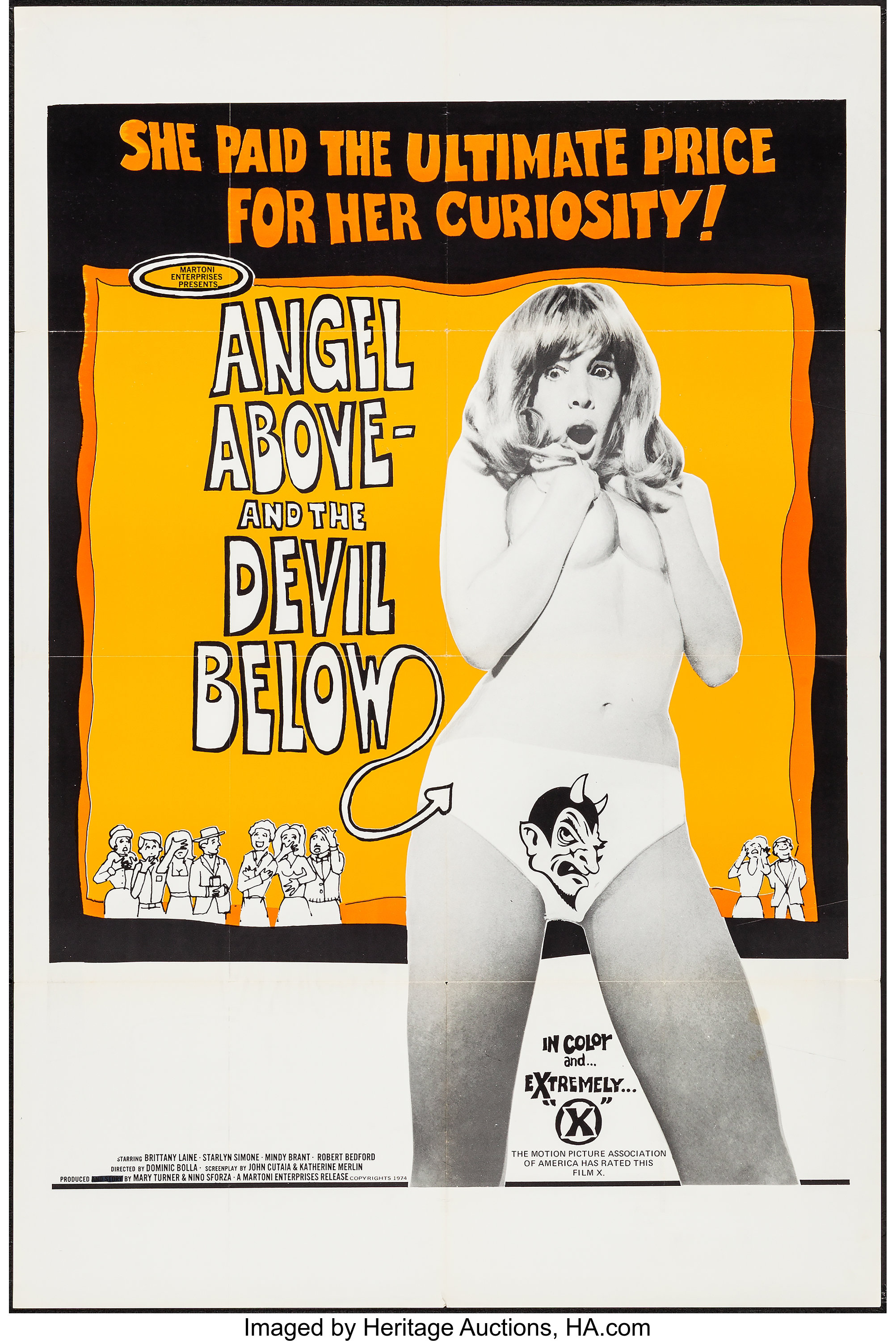 100 Photos of Angel Above The Devil Below 1974