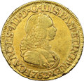 Colombia: Charles III gold 2 Escudos 1762 NR-JV VF30 NGC