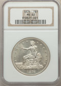Trade Dollars: , 1876 T$1 MS62 NGC. NGC Census: (62/218). PCGS Population: (88/268). MS62. Mintage 455,000. ...