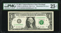Error Notes:Mismatched Serial Numbers, Fr. 3001-D $1 2013 Federal Reserve Note. PMG Very Fine 25 EPQ.. ...