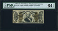 Fractional Currency:Third Issue, Fr. 1337 50¢ Third Issue Spinner PMG Choice Uncirculated 64 EPQ.. ...