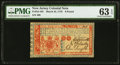 Colonial Notes:New Jersey, New Jersey March 25, 1776 £6 PMG Choice Uncirculated 63 EPQ.. ...