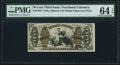 Fractional Currency:Third Issue, Fr. 1362 50¢ Third Issue Justice PMG Choice Uncirculated 64 EPQ.. ...