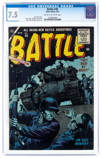 Battle #38 (Marvel, 1955) CGC VF- 7.5 Cream to off-white pages