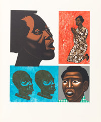 [Limited Editions Club]. Margaret Walker. For My People. Lithographs by Elizabeth Catlett. New