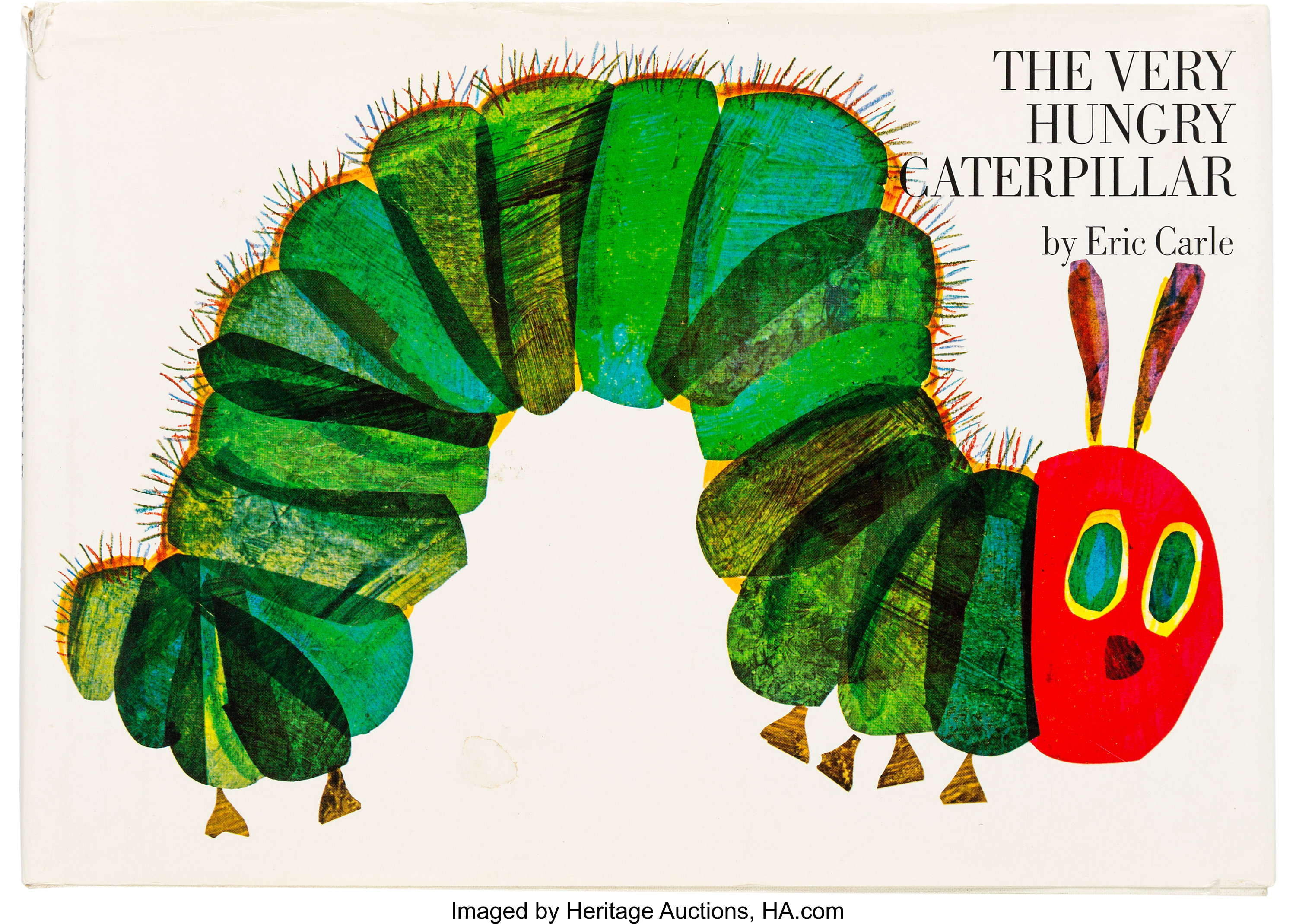 Eric Carle. The Very Hungry Caterpillar. New York: The World | Lot ...