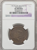 Colonials, 1786 NJERSY New Jersey Copper, No Coulter -- Rim Damage -- NGC Details. VG. NGC Census: (2/5). PCGS Population: (2/22). . ...