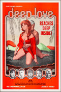 """Movie Posters:Adult, Deep Love (Josef Halmos, 1970). Folded, Very Fine-. One Sheet (28"""" X 42""""). Adult.. ..."""