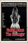 """Movie Posters:Adult, Naked Came the Stranger (VCA, 1975). Folded, Fine+. One Sheet (27"""" X 41""""). Adult.. ..."""