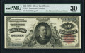 Large Size:Silver Certificates, Fr. 317 $20 1891 Silver Certificate PMG Very Fine 30.. ...