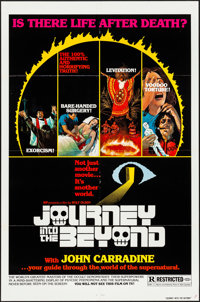 "Journey Into the Beyond & Other Lot (Burbank International, 1977). Folded, Very Fine-. One Sheets (2) (27""..."