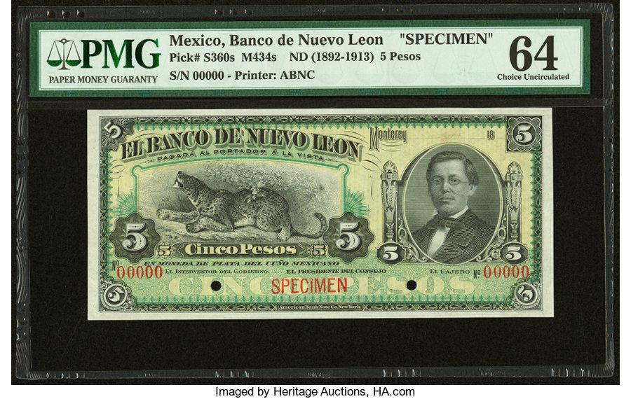 Mexico - Currency for sale on Collectors Corner