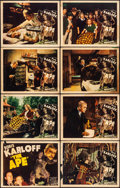 "Movie Posters:Horror, The Ape (Monogram, 1940). Fine+. Lobby Card Set of 8 (11"" X 14""). Horror.. ... (Total: 8 Items)"