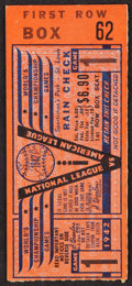 Baseball Collectibles:Tickets, 1942 World Series Game 1 Ticket Stub - Stan Musial's World Series Debut!...