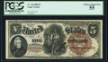 Fr. 70 $5 1880 Legal Tender PCGS Choice About New 55