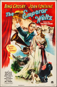 "The Emperor Waltz (Paramount, 1948). Folded, Very Fine-. One Sheet (27"" X 41""). Musical"