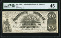 Confederate Notes:1861 Issues, T18 $20 1861 PF-30 Cr. 135 PMG Choice Extremely Fine 45.. ...