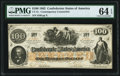 Confederate Notes:1862 Issues, CT41/316A $100 Contemporary Counterfeit 1862 PMG Choice Uncirculated 64 EPQ.. ...
