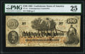 CT41/315 $100 1862 Contemporary Counterfeit PMG Very Fine 25
